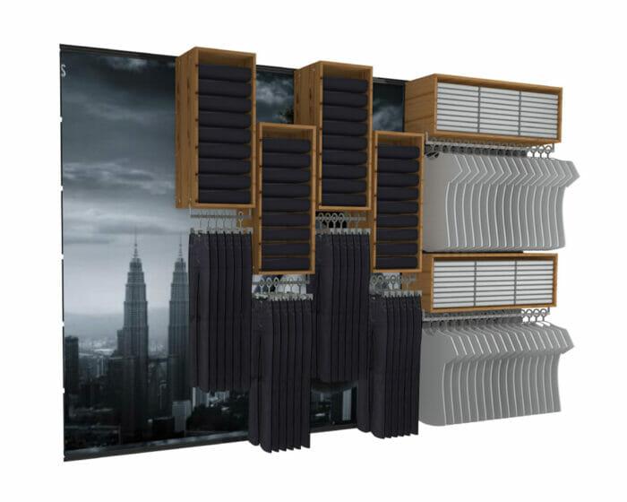 spaceworks staktrak display system