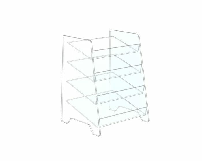 Perspex stand
