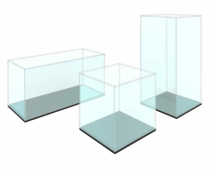 Acrylic (Perspex) Displays Image