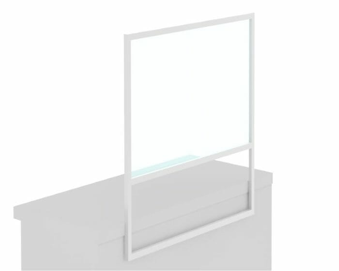 Protective Glass Reception Screen - C
