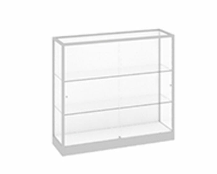 Glass wallcase