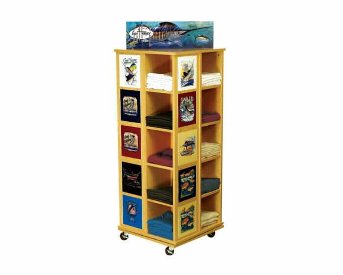 Shop floor display stand