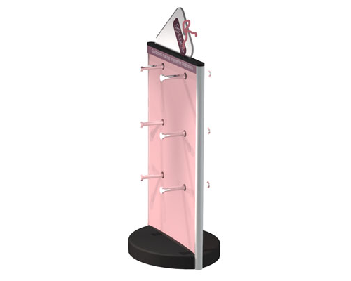 Lingerie display stand retail
